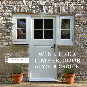 win a free timber door with new window company