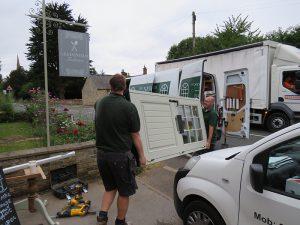 leadenham teahouse, new door installation, new window co, competition winners, new door