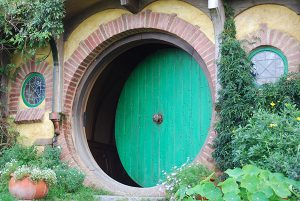 new window company, lincolnshire doors, famous doors, the hobbit, bilbo baggins' door