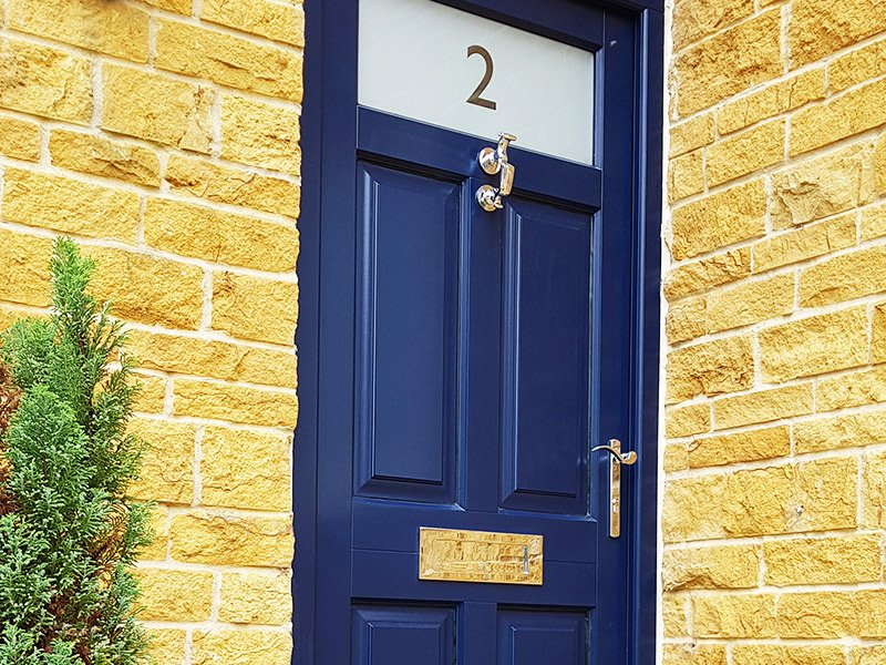 Chalfont Front Door | Timber | Leicestershire
