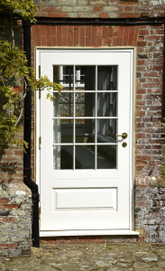 new window co, virtual quote, Bardwell Entrance Door - Off-White.