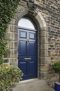 new window co, virtual quote, Chadlington Front Door - Oxford Blue