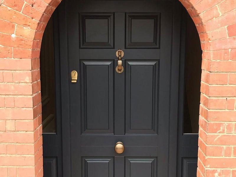 Timber Front Door | Stamford