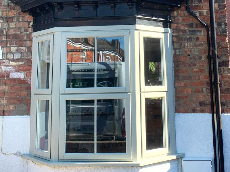 Timber Alternative Bay Window | Gainsborough