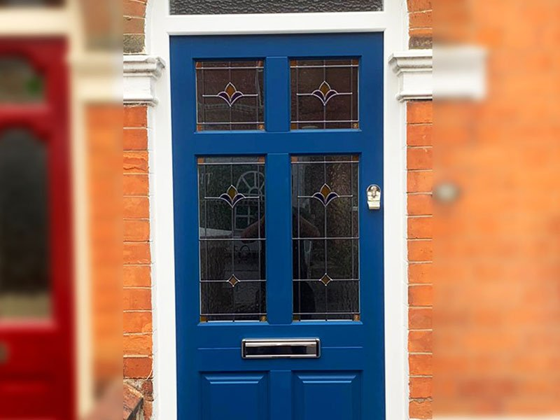 Timber Front Door | Lincoln