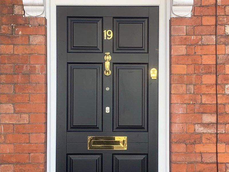 Timber Front Door | Newark