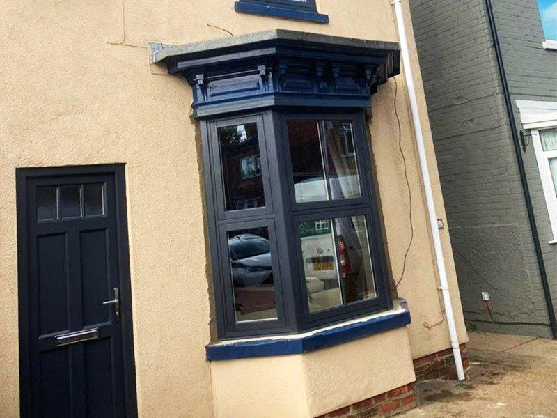 Evolution Bay Window & Front Door | Gainsborough