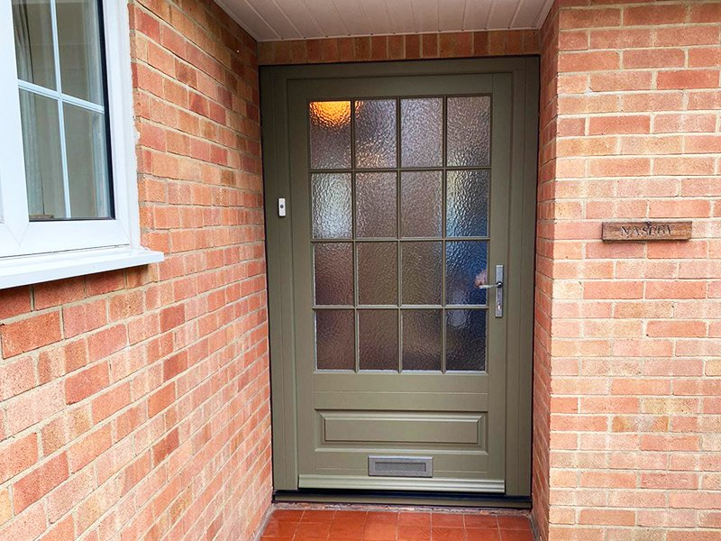 Timber Front Door | Woodhall Spa